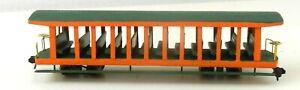 HOn3 Undecorated Wood Construction TROLLEY PASSENGER TRAIN STREET CAR ~ T130D
