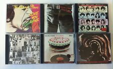 Lot 7 CD The Rolling Stones -Love you CD 1-Sticky-Some Girls-Exile-Let it-Hot