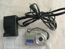 Olympus FE-230 7.1 MP Digital Camera Silver + Charger + 2MG Memory Card +Battery