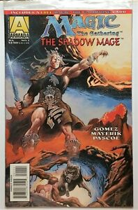Magic: The Gathering - The Shadow Mage #1 sealed w/card (1995, Acclaim) VF/NM