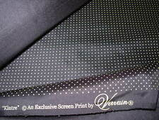 """~BTY~100% SILK~VERVAIN """"KINTRE"""" POLKA DOTS SILK UPHOLSTERY FABRIC FOR LESS~"""