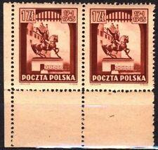 1945 Polska Poland Fi 363 ** Zabytki Krakowa  zestaw 18 znaczków