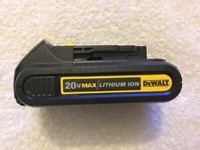 New Dewalt DCB201 20V 20 Volt Max 1.5Ah Battery Lithium Ion Li-Ion