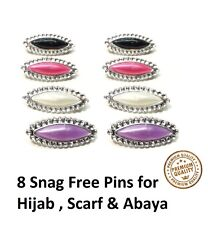 Hijab Abaya Scarf snag Free Pins for Shawl Pashmina ladies safety assorted pins
