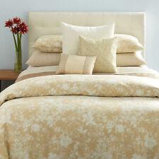 $620 QUEEN Duvet Set 3pcs Calvin Klein DUVET LUMINOUS MANILA cotton Sateen !!!!
