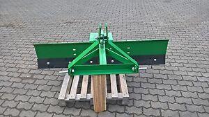 Planierschild Wegehobel Erd-Schneeschild für Traktor Kleintraktor Gräder Neu BBS