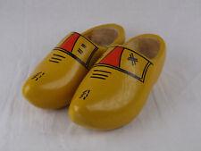 Dutch Holland Wooden Shoes Clogs Vintage Painted Tourist Collect