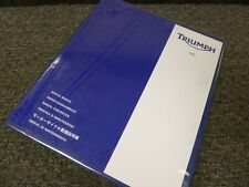 1995-1998 Triumph Thunderbird 900 Sport Shop Service Repair Manual 1996 1997