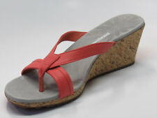 Patagonia Women's Solimar Wedge Slide Sandal, Coral, 7 M US