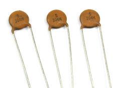 10pcs 100V0.1UF-7X7X2 Ceramic Disc Capacitor 104100V 100V .1uF