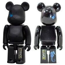 FRINGE 100% Bearbrick Series 23 Be@rbrick S23 SF Medicom Art Toy Rare Black