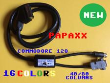 CAVO SCART RGB 40-80 COLONNE A 16 COLORI PER COMMODORE 128  / C128