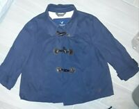 Girls American Eagle Outfitters, Medium Size Navy Blue Coat With Toggle Buttons