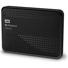 WD 1TB My Passport Cinema Vidity 4K UHD Movie Storage USB 3.0 Hard Drive Black
