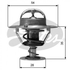 Thermostat, Kühlmittel für Kühlung GATES TH04282G1