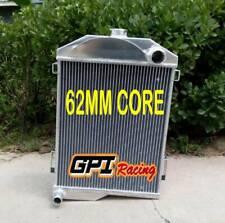 62MM for AUSTIN HEALEY 3000 1959-1967 66 65 64 63 aluminum radiator