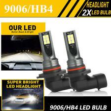 2X 9006 HB4 LED Headlight Bulb Kit Halogen Low Beam 6000K 60W 7600LM White Light