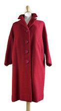 Vintage Mayfair Hand Tailored California Forstmann Coat Women's Wool Union Made
