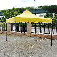 10X10 Commercial POP UP Wedding Party Canopy Tent Folding Gazebo Beach Yellow