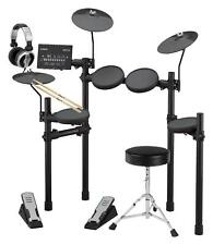 Yamaha DTX402K Kompakt E-Drum Kit elektronisches Schlagzeug App Set Hocker Stick