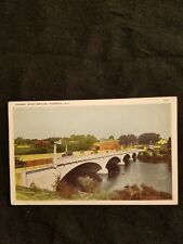 Grasse River Bridge Massena NY - Vintage Postcard - 133 - Unused