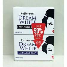 Skin Lightening Kojie San Dream White Anti-Aging Soap Kojic Acid x 2 Acne, Marks