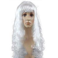 Womens Long Wavy Curly Wig Cosplay Party Women Anime Sexy Stylish Full Hair Wigs