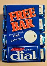 Vintage 4X Sky Blue Dial  Deodorant  Soap Bar NOS 5 oz from 1982 NOS -- 503