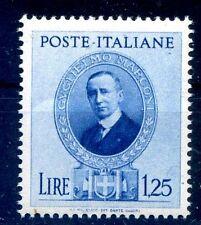 GUGLIELMO MARCONI - 1938  Lire 1,25  NUOVO **