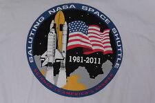 """Space Shuttle 1981-2011-NASA"" T-Shirt – Space NASA Image(L)"