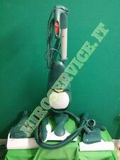 scopa elettrica VORWERK FOLLETTO sistema completo aspirapolvere VK 140 usato