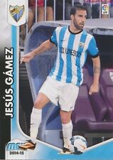 N°255 JESUS GAMEZ DUARTE # ESPANA MALAGA.CF CARD PANINI MEGACRACKS LIGA 2015
