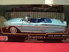 Motormax 1958 Chevrolet Impala convertible w/continental kit  1/24 scale nib