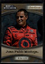 JUAN PABLO MONTOYA 76/125 2ND GEAR GOLD 1 2009 PRESS PASS SHOWCASE NASCAR TARGET