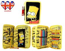 Simpson Filled Pencil Case, 2 Layer Pencil Case!Official licensed