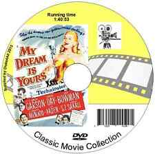 My Dream is Yours - Jack Carson, Doris Day Romantic Comedy Musical Film DVD 1949