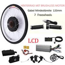 "26 ""LCD Kit conversión bicicleta eléctrica Ebike Ciclismo Motor rueda 1000W 48V"