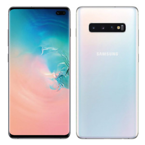 Samsung Galaxy S10+ Plus ( Unlocked ) 512GB Dual SIM 4G 6.4in 16MP 8GB RAM White