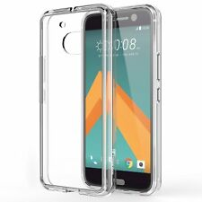 HTC 10 Case, Ultra Slim Hybrid TPU Scratch Resistant Case - Crystal Clear