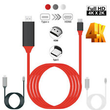 2 in 1 MHL Type-C to HDMI Adapter Cable,1080P to HDTV Cord with USB Charging USA