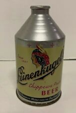 New listing Leinenkugel's Crowntainer Cone Top Beer Can Chippewa Falls, Wisconsin Wi