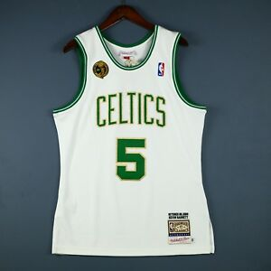 100% Authentic Kevin Garnett Mitchell Ness 08 09 Celtics Jersey Size 40 M Mens