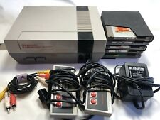 Classic Nintendo Console And Games NES