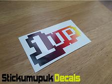 Jdm 1UP - Retro Gamer Car Sticker ,Sticker For Car Windows / Body panel/ Laptops