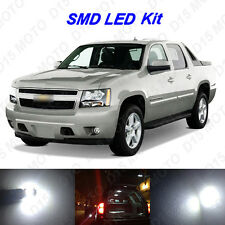 14 x White LED interior+ Fog + Reverse+ Tag Lights For 2007-2013 Chevy Avalanche