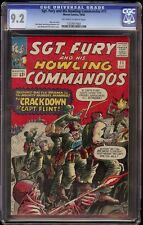 Sgt Fury # 11 CGC 9.2 OW/W (Marvel, 1964) Jack Kirby cover