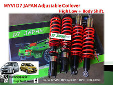 MYVI D7 JAPAN Adjustable Coilover High Low Body Shift
