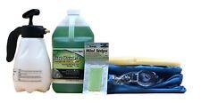 Complete Mini Split Cleaning Kit Featuring Nu-Calgon Evap Pow'r C Coil Cleaner