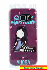 Funda carcasa gel / TPU Samsung G925 Galaxy S6 Edge muñeca / niña tipo Gorjuss