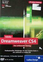 Adobe Dreamweaver CS4-Das umfassende Video-Training | Software | DVD Rom PC&Mac